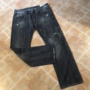 Diesel Viker straight leg jeans size men's 34/32